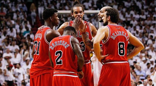 "<p>Former teammates Carlos Boozer and Nate Robinson have officially launched their <a href=""http://on.si.com/2EHivq4"" rel=""nofollow noopener"" target=""_blank"" data-ylk=""slk:new NBA podcast"" class=""link rapid-noclick-resp"">new NBA podcast</a>, HOLDAT, with Sports Illustrated. The podcast explores the league from a players' perspective both on and off the floor. Boozer and Robinson teamed up in Chicago during the 2012–13 season, where they had the privilege of playing alongside one of the most animated players in the NBA, Joakim Noah, who helped spark a movement. So what does HOLDAT mean? Boozer and Robinson each explain their first experience with the term HOLDAT. </p><h3><strong>Carlos Boozer </strong></h3><p>HOLDAT for me came from my boy Sticks, as we call him, Joakim Noah. So we're in a battle with Boston. At the time I think we're like 1 or 2 in the East and Boston was 1, 2, or 3 in the East...We're in Boston, him and Kevin Garnett have their own battles throughout their career. They had a seven-game series, they've had different things they've competed against each other with, so they have an individual matchup. KG being a very good defender, Joakim being a very good defender.</p><p>They were battling it out, they were both struggling. We go to the fourth quarter, two minutes to go, we're down by two, D. Rose drives to the hoop and kicks it out to Joakim Noah—and if you haven't seen my man's jump shot, it's like a cyclone, that thing be spinning all types of directions—and KG tried to close out on him. Joakim hit the shot, and he screamed out 'HOLDAT!' right in KG's face. Tied the ballgame up, gave us an opportunity to win the game, we ended up winning in overtime. And that's the moment for me when HOLDAT arrived.</p><p>After that, after every shot I took—after every shot that Nate took, after every shot Joakim, Taj Gibson, Luol Deng, D. Rose, Rip Hamilton, whoever it was—whoever shot the ball from then on, I was screaming out 'HOLDAT' for myself or for my teammates.</p><p>?</p><h3><strong>Nate Robinson </strong></h3><p>When I was on the Knicks, Joakim Noah was on the Bulls. He was at the free-throw line, and I remember his shoes were horrible. He had some chicken-hawk shoes that was terrible. I was like, 'Bro, you need to take them off your feet. That's a disgrace.' He's at the free-throw line, and I'm like, 'Aww, he don't shoot free throws. These is off, these is off.'</p><p>He went to the line, he knocked down not one but two free throws. And the second free throw he told me to 'HOLDAT!' I didn't understand. He was like, 'Yeah, HOLDAT.' Every time after that, I was like, 'Oh, okay. After a bucket you yell that. That's lit.' So when I got to the Bulls I couldn't wait to scream out HOLDAT with my guys.</p><p><em>Subscribe to the HOLDAT podcast via <a href=""https://itunes.apple.com/us/podcast/holdat-with-carlos-boozer-nate-robinson/id1348103437?mt=2"" rel=""nofollow noopener"" target=""_blank"" data-ylk=""slk:Apple Podcasts"" class=""link rapid-noclick-resp"">Apple Podcasts</a>, <a href=""https://art19.com/shows/holdat-with-carlos-boozer-and-nate-robinson/"" rel=""nofollow noopener"" target=""_blank"" data-ylk=""slk:Art19"" class=""link rapid-noclick-resp"">Art19</a> or <a href=""https://www.stitcher.com/podcast/cadence13/holdat-with-carlos-boozer-nate-robinson"" rel=""nofollow noopener"" target=""_blank"" data-ylk=""slk:Stitcher"" class=""link rapid-noclick-resp"">Stitcher</a> and check out the first episode next week. And be sure to follow <a href=""http://instagram.com/mrcbooz"" rel=""nofollow noopener"" target=""_blank"" data-ylk=""slk:Carlos"" class=""link rapid-noclick-resp"">Carlos</a> and <a href=""http://instagram.com/naterobinson"" rel=""nofollow noopener"" target=""_blank"" data-ylk=""slk:Nate"" class=""link rapid-noclick-resp"">Nate</a> Robinson on Instagram.</em></p>"