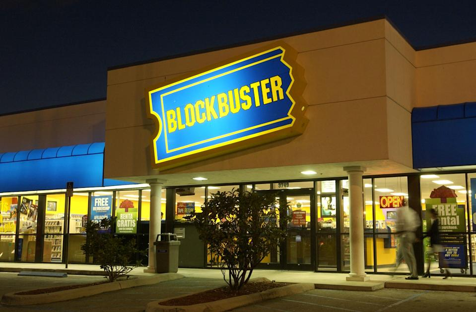 Blockbuster video is down to one branch in the US (Credit: Getty)