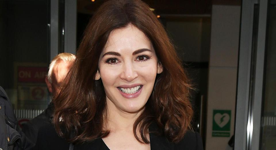 Nigella Lawson shares her tip for preventing family arguments at Christmas. [Photo: Getty]