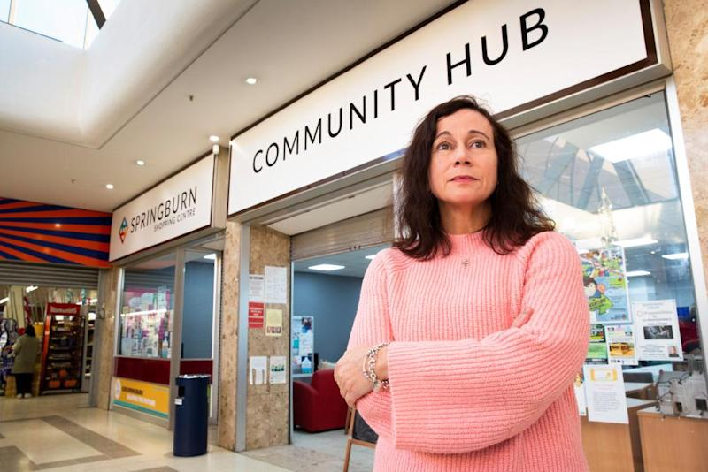 Helen Carroll at Springburn Community Hub.