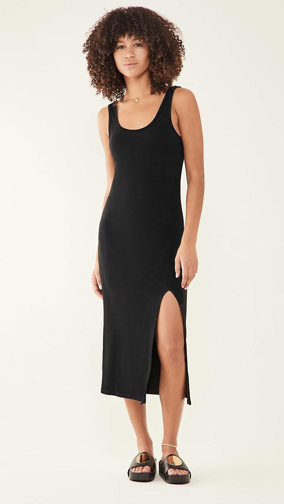 <p>Meet your new everyday style: the <span>Z Supply Melina Rib Dress</span> ($68).</p>