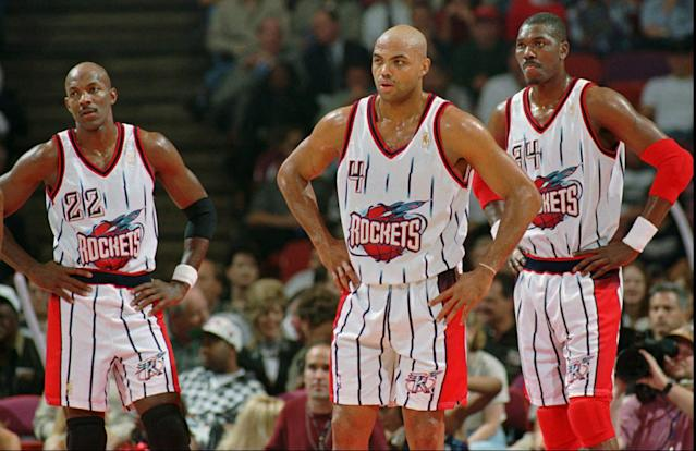 After criticizing Kevin Durant, Charles Barkley said his quest to chase a ring in Houston wouldn't have counted — had he actually won one. (AP Photo/David J. Phillip)