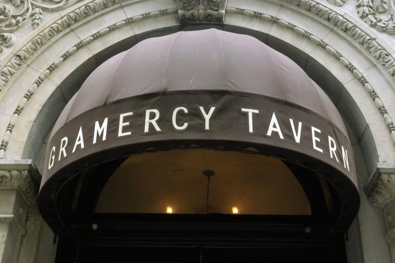 The exterior of the Gamercy Park Tavern is seen in New York City. (Photo by Neville Elder/Corbis via Getty Images)