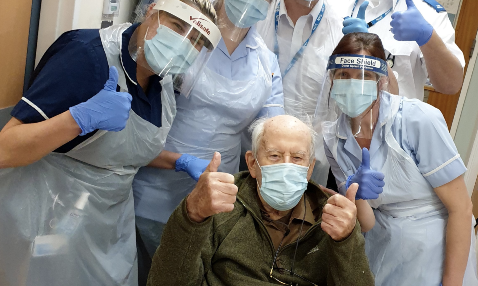 Keith Watson, 101, is the oldest Briton to recover from coronavirus. (Picture: Facebook)