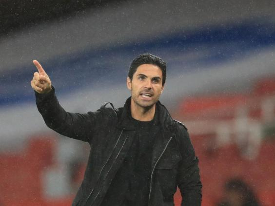 Arteta admits he is proud of his Arsenal side (Getty)