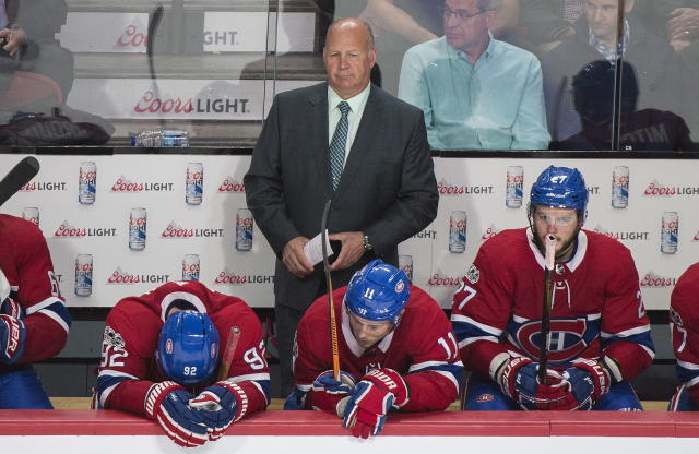"<a class=""link rapid-noclick-resp"" href=""/nhl/teams/mon/"" data-ylk=""slk:Montreal Canadiens"">Montreal Canadiens</a> head coach Claude Julien was put on blast Thursday by a prominent NHL agent over his treatment of forward <a class=""link rapid-noclick-resp"" href=""/nhl/players/5683/"" data-ylk=""slk:Alex Galchenyuk"">Alex Galchenyuk</a>. (Graham Hughes/The Canadian Press via AP)"
