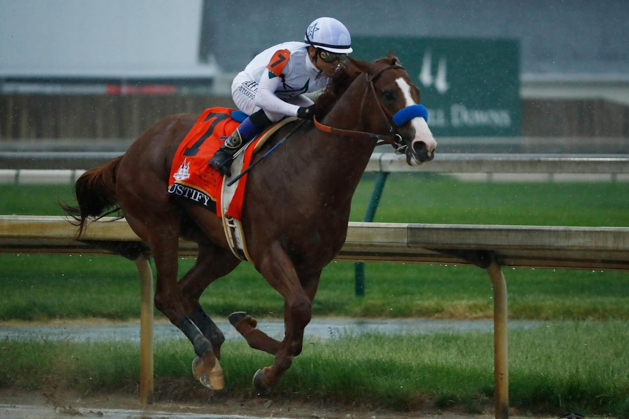 A Texas woman won $1.2 million on a $18 Kentucky Derby bet on Saturday. (Getty Images)