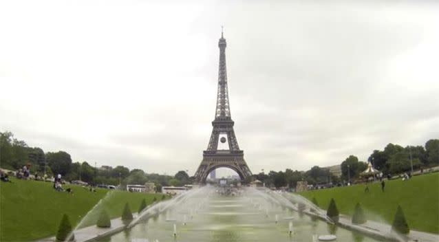 The Eiffel Tower is 324 metres tall and climbing the structure is prohibited. Photo: Travel Ticker