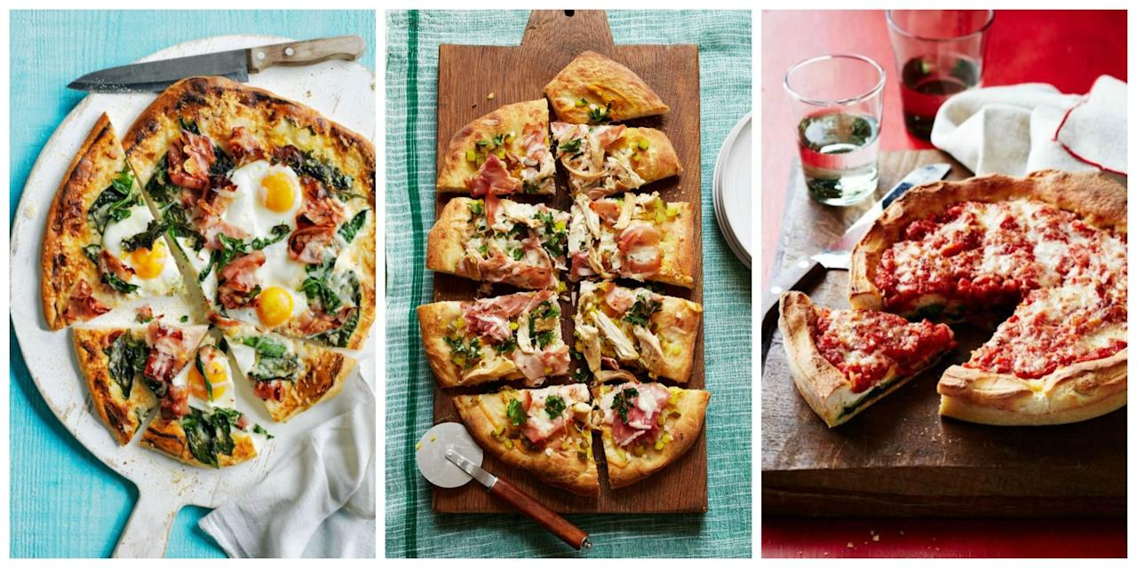 <p>These scrumptious pies are way better than delivery.<span></span><span></span></p>