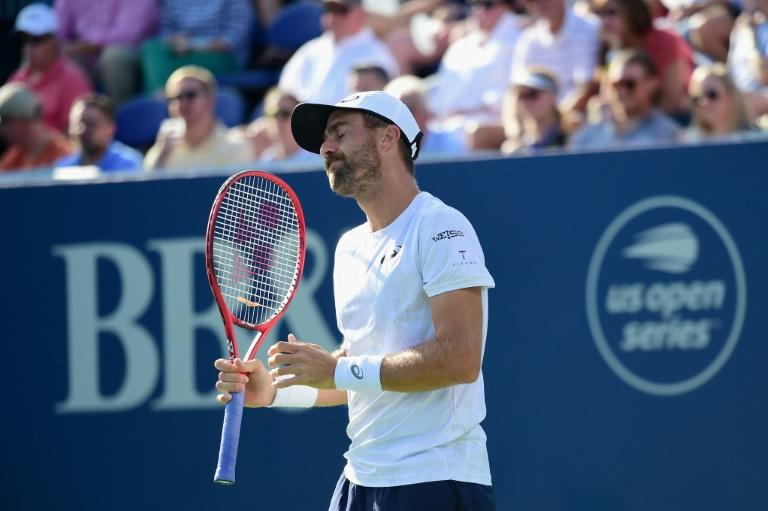 Steve Johnson was trying to become the first American in eight years to win titles on three different surfaces in a season