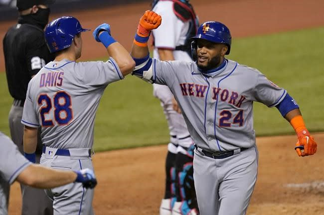 Cano and Alonso each homer twice as Mets beat Marlins 11-4