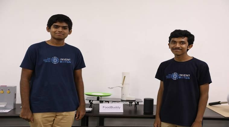 iit, iit students, statup, iit startup, self feed, assistive technology, alexa, google assistant, innovation, price, iit gandhinagar, education news