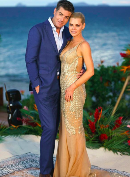 Sophie Monk confirmed she split from her Bachelorette love Stu Laundy after four months together. Source: Ten