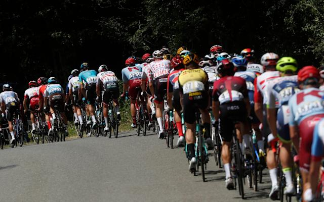 Just two riders have abandoned the Tour de France following seven completed stages - Copyright 2019 The Associated Press. All rights reserved