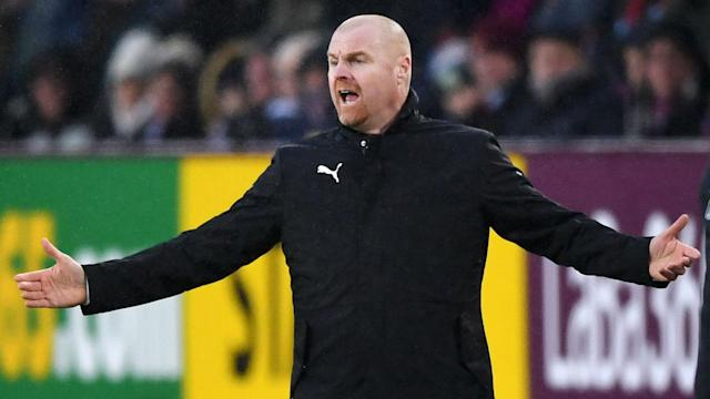 Burnley beat Fulham on Saturday thanks to a pair of own goals, leaving Sean Dyche grateful for finally getting some luck this season.
