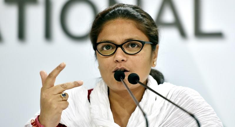 Sushmita Dev is the former MP from Silchar and is also the former president of the All India Mahila Congress