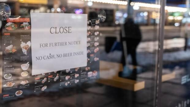 The City of Ottawa is looking at giving small businesses hammered by the COVID-19 pandemic a tax break. (Andrew Lee/CBC - image credit)