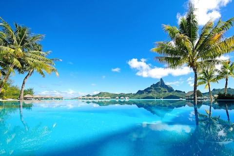 Tahiti is a byword for paradise - Credit: GETTY