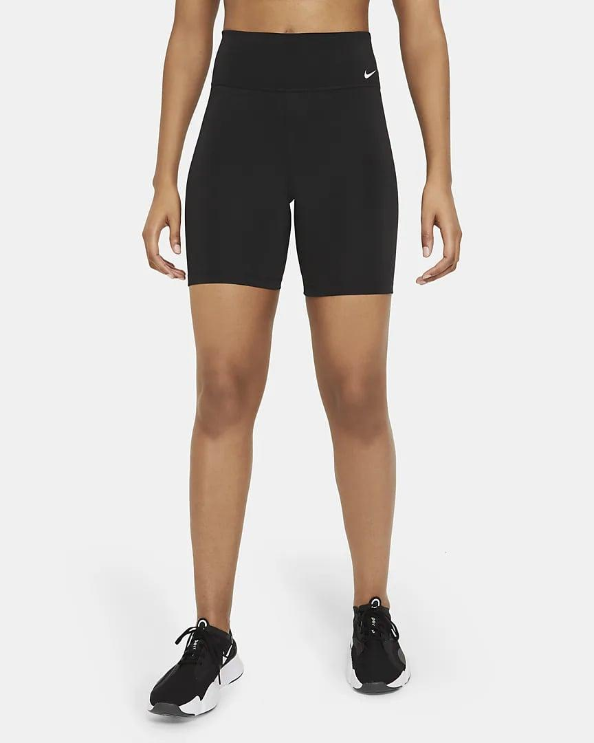 """<p>If you need a classic biker short in your closet, these <span>Nike One Mid-Rise 7"""" Bike Shorts</span> ($40) are the pair to grab.</p>"""