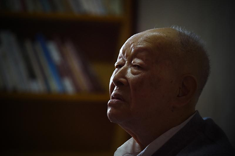 Zhou Youguang is commonly known as the 'father of Pinyin', a system for transliterating Chinese characters into the Roman alphabet introduced in the 1950s (AFP Photo/WANG ZHAO)