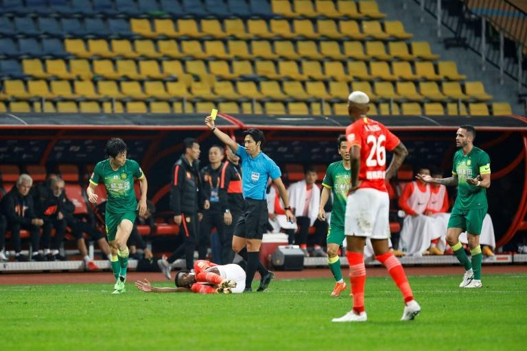 Chinese football sets 'miserable' record as teams see red