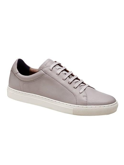 <p>While these <span>Banana Republic Nicklas Leather Sneakers</span> ($138) come in <span>several colors</span> with suede and canvas options, too, we especially like this slate-gray choice.</p>