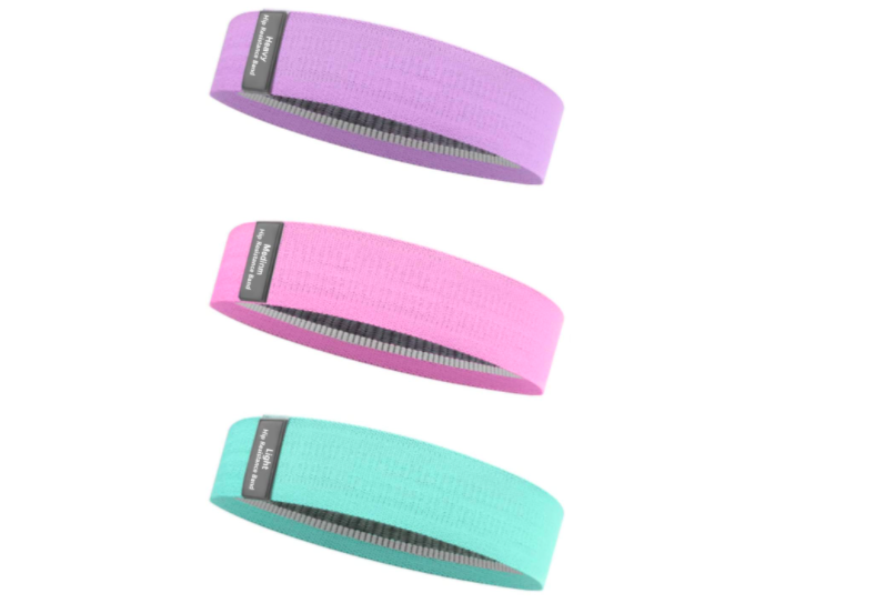 Tone your glutes and more with these bands. (Photo: Amazon)