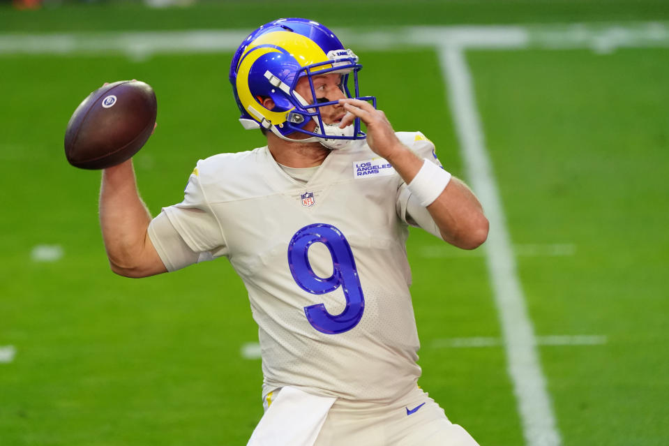 Rams Qb John Wolford Will Get A Chance To Prove Himself If Jared Goff Can T Play
