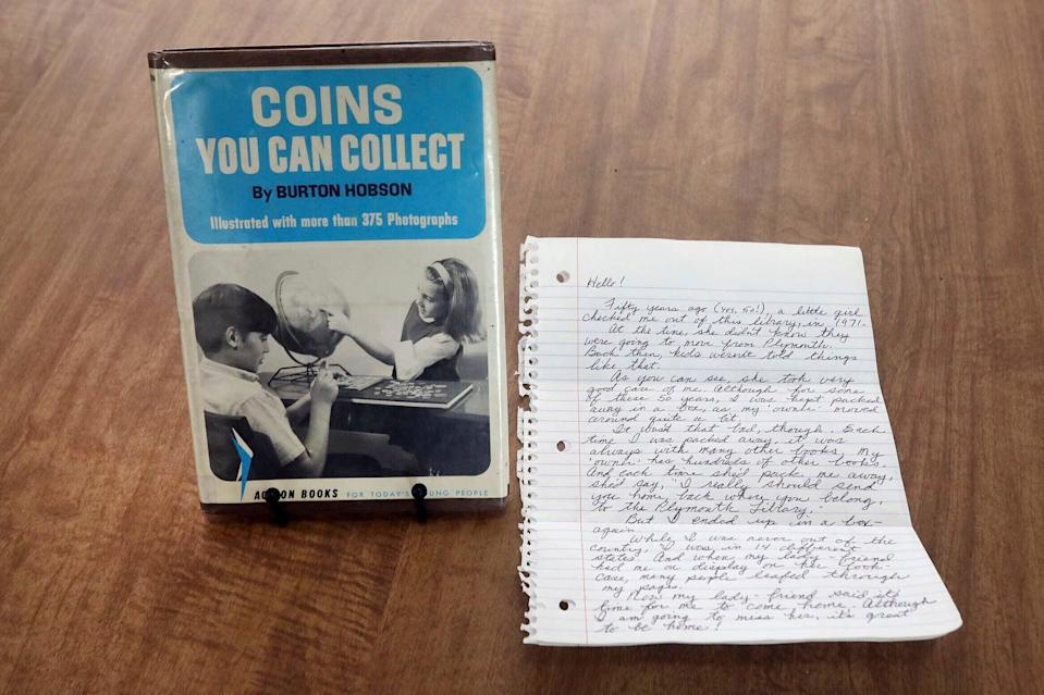ODD Library Book Returned After 50 Years  (ASSOCIATED PRESS)
