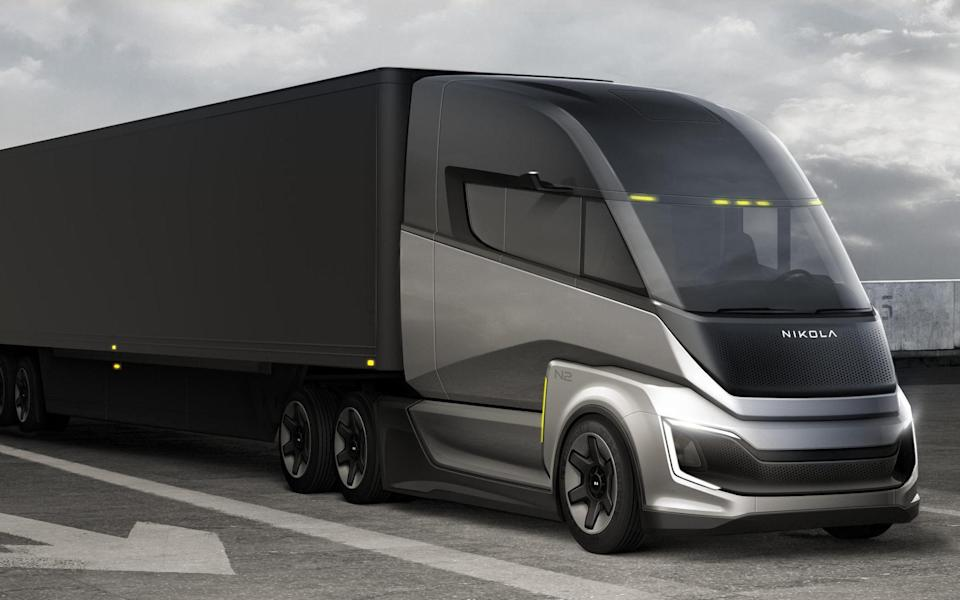 The Nikola Two FCEV Sleeper - Nikola