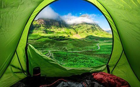 Camping at Glencoe in highland in summer - Getty