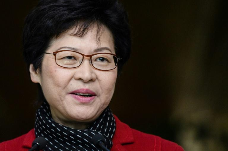 Carrie Lam was selected as Hong Kong's chief executive by a committee dominated by pro-China voters