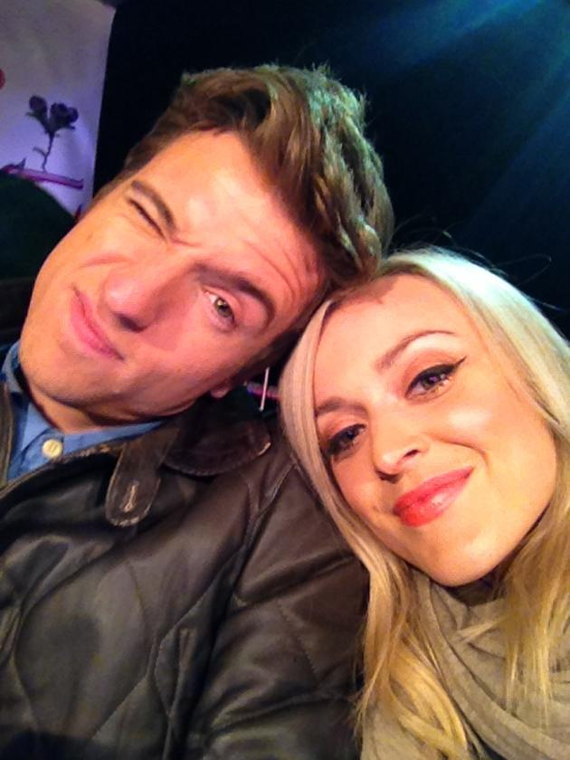 Celebrity photos: Last weekend's BBC Radio 1 event in Hackney wowed us, with performances from Rihanna and Jay Z. Radio 1 DJs Fearne Cotton and Greg James were both excited to be there too, tweeting this photo at the end of the first day. Copyright [Fearne Cotton]
