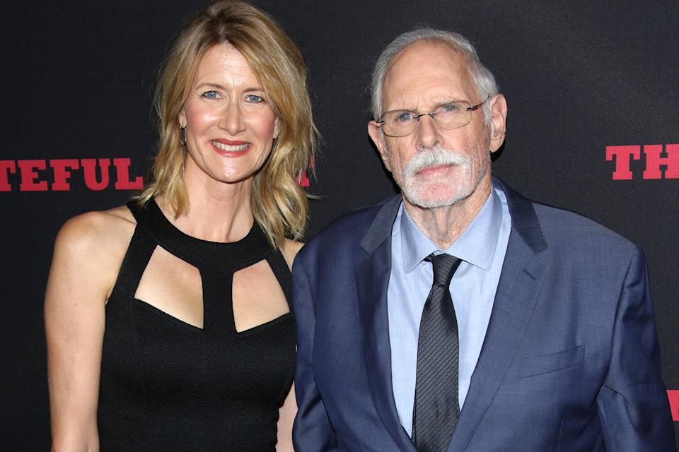"""<p>""""I'm so emotional because I got to hug my dad,"""" Laura <a href=""""https://people.com/movies/sag-awards-2020-outstanding-performance-female-actor-supporting-role-laura-dern/"""" rel=""""nofollow noopener"""" target=""""_blank"""" data-ylk=""""slk:said proudly"""" class=""""link rapid-noclick-resp"""">said proudly</a> after winning her first Screen Actors Guild Award.</p> <p>""""To all the casting directors. I literally wouldn't be here if it weren't for actors,"""" she continued, referencing her actor parents.</p> <p>""""Thank you Dianne Ladd and Bruce Dern. Thank you for raising me in the community of your friends.""""</p>"""