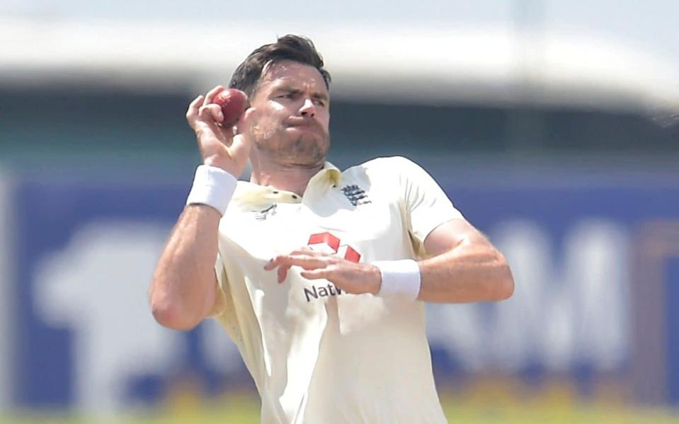 James Anderson — James Anderson records his best bowling figures in Asia