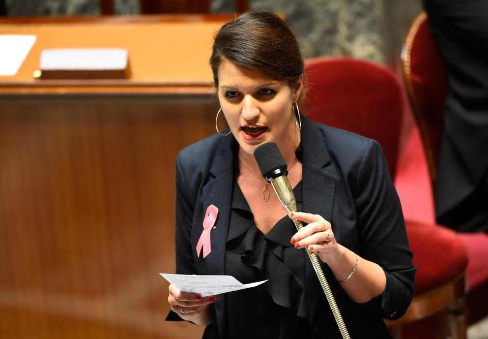 """French gender equality minister Marlene Schiappa said that the law is """"completely necessary"""" [Photo: Getty]"""