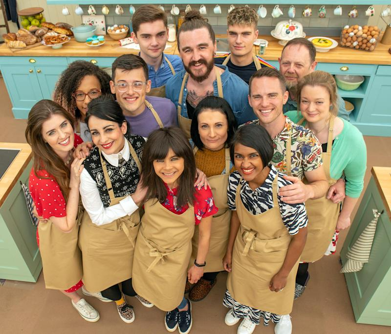 The amateur bakers in this year's The Great British Bake Off (Love Productions/Channel 4)
