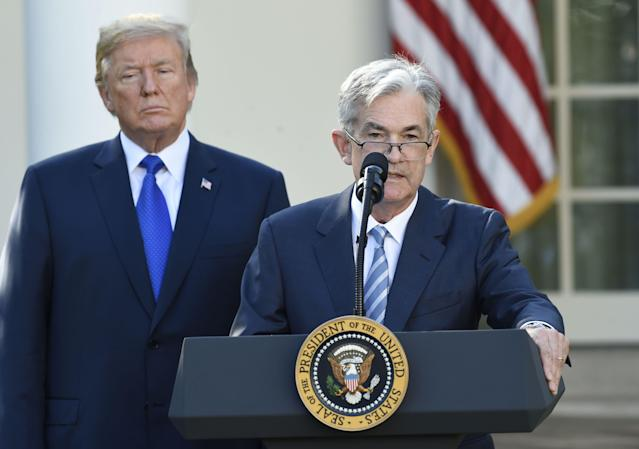 President Donald Trump picks Jerome Powell for Fed chair. (Getty Images)