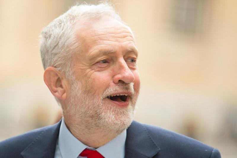 Labour leader: Jeremy Corbyn (PA)