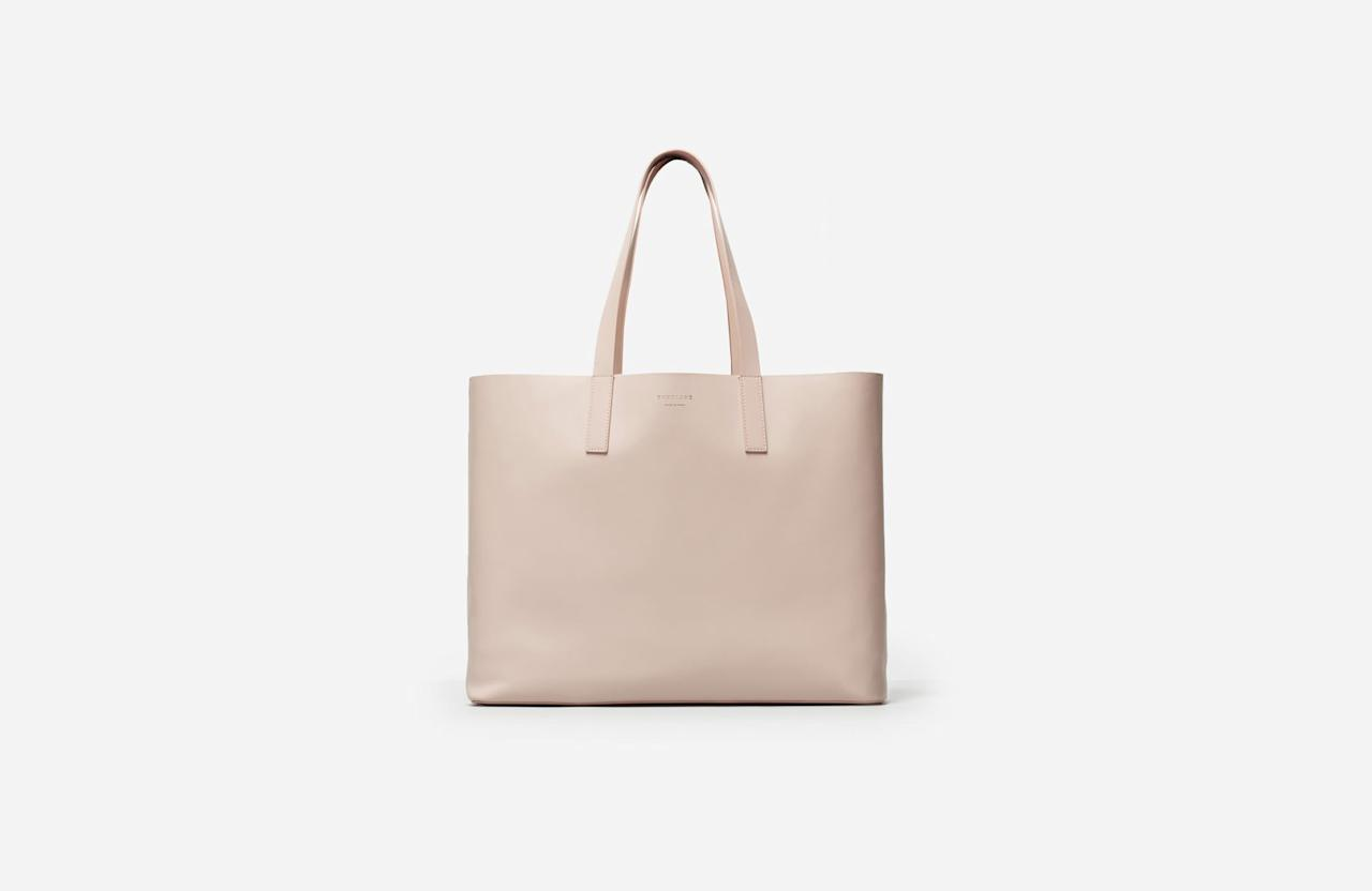 p Premium Italian leather turns this structured tote into an all-day bag d7f8c67d74fa4