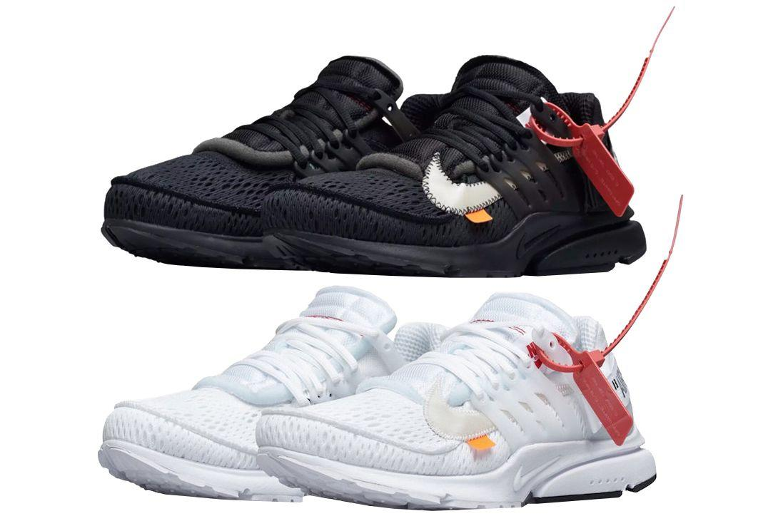 """<p>Easily one of the most hyped sneakers of the year, the duo of black and white Air Prestos from Nike and Off-White were also one of the best. Virgil Abloh snapped with the original Air Presto from his """"The Ten"""" collection last year, and, while the design was initially overlooked, it has since proven itself to be one of the most progressive from the collection. The complexity of the silhouette lends itself well to the subtleties of black and white to let the textures come through. Fans lapped up both colorways, and many of the white pairs have become canvases for homemade customs to near unanimous positive results.</p><p><strong>Original Price: </strong>$160</p><p><a rel=""""nofollow"""" href=""""https://www.nike.com/us/en_us/c/men"""">SHOP NIKE</a><br></p>"""