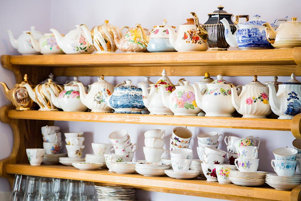 Grouping clutter together in collections can look very effective. (Getty Images)