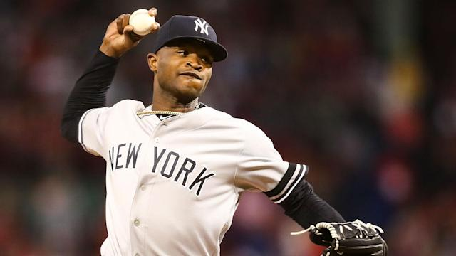Domingo German was placed on administrative leave in September and the New York Yankees pitcher has now been given a lengthy suspension.