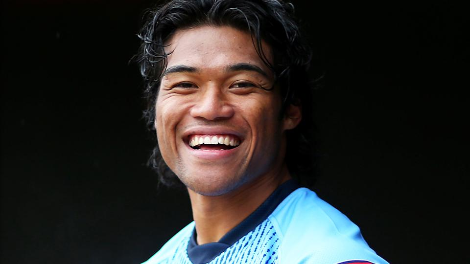 Blues rookie Brian To'o spent his first State of Origin paycheque on a house deposit for his parents. (Photo by Jason McCawley/Getty Images)