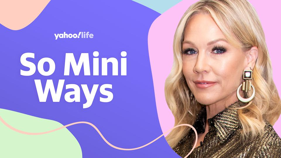Jennie Garth on co-parenting, raising three daughters and being a young mom. (Photo: Getty; designed by Quinn Lemmers)