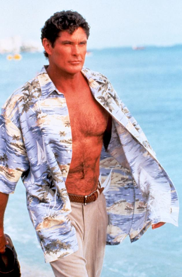 BAYWATCH, 1989-2001, David Hasselhoff