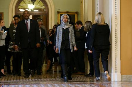 Trump blasts Omar's Israel remarks; Dems condemn all bigotry