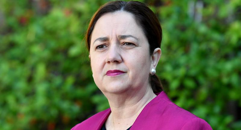 Premier Annastacia Palaszczuk said it was hard to believe a nurse would continue working while sick. Source: AAP
