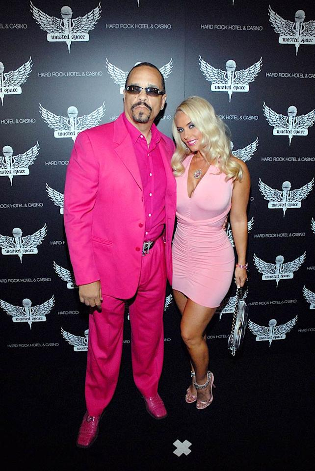 """Ice-T and his wife Coco are far from pretty in pink. <a href=""""http://www.x17online.com"""" target=""""new"""">X17 Online</a> - July 19, 2008"""