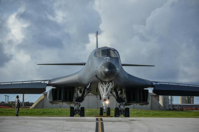 Supersonic B-1B bombers from the US Pacific Command's Andersen Air Force Base in Guam are often flown over the peninsula for joint exercises and to demonstrate Washington's 'full range of military capabilities' -- always infuriating Pyongyang